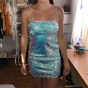 🦕 Urban Outfitters Motel Sparkly Cocktail Dress